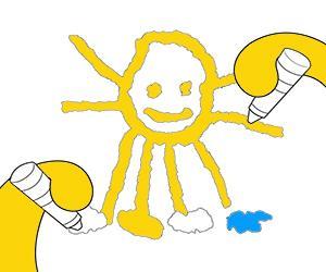 Küçük çocuklar için boyama