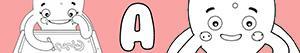 A harfi ile kızlar isimleri boyama