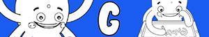 G harfi ile erkekler isimleri boyama