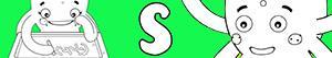 S harfi ile kızlar isimleri boyama